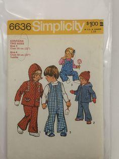 Simplicity 6636 Vintage Pattern by ShopMorgans on Etsy