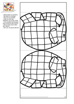drawing using shapes kindergarten ~ drawing using shapes _ drawing using shapes kids _ drawing using shapes kindergarten _ drawing using shapes for kids Animal Crafts For Kids, Art For Kids, Kindergarten Drawing, Elmer The Elephants, Elephant Coloring Page, Shape Crafts, School Worksheets, Color Activities, Teaching Art