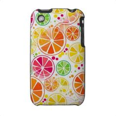 Summertime Colors - iPhone 3 Case