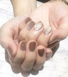 Korean Nail Art, Korean Nails, Nail Inspo, Makeup Inspo, Cat Eye Gel, Minimalist Nails, Neutral Nails, Nail Trends, Nail Arts