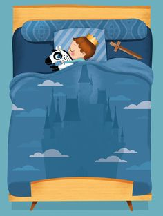 Lucie Brunelliere--boy, this makes me think of my Benjamin--sleeps almost every night with a sword of some sort. :)