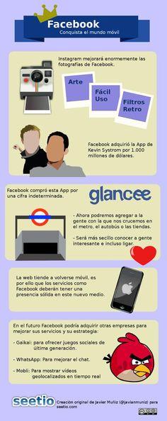 Facebook conquista los moviles