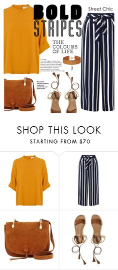 """""""°bold stripes°"""" by andronic-otilia ❤ liked on Polyvore featuring Monsoon, Elizabeth and James, Hollister Co. and Vanessa Mooney"""