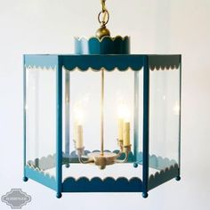 Coleen & Company: Scalloped Lantern - Large