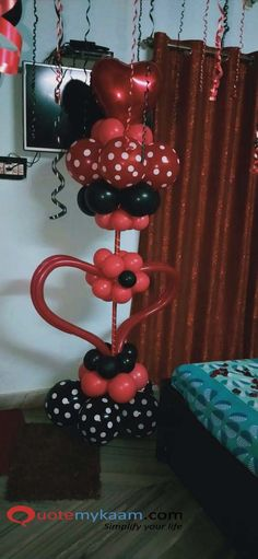 Best Romantic Room Decoration ideas for an unforgettable evening. Surprise your partner with our exciting romantic room decor & set up just for you two. Romantic Room Decoration, Romantic Bedroom Decor, Event Management, Balloon Decorations, Balloons, Table Lamp, Ideas, Home Decor, Globes