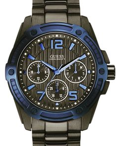 Guess if you can, and choose if you dare. GUESS W0601G1. #mensfashion #wristwatch #menswatches