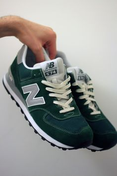 New Balance-574 Forest Green