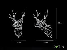 Check out Stag Deer Trophy Head Large Facing Right by Dotsan on Shapeways and discover more printed products in Sculptures. Impression 3d, Stag Deer, Half Mask, Large Prints, The Dreamers, 3 D, 3d Printing, Miniatures, Wire