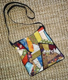 Patchmake. Blog de patchwork: Bolso bandolera