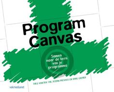 Program Canvas -  Van Der Tak, Theo -  plaats 366.3 # Projectmanagement