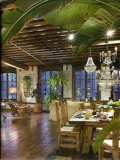 Don't know if this is a restaurant or someone's house, but man is it gorgeous!