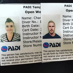 Evan and I officially became certified divers! Here we come Bali!  #PADI #scubadiving #scuba by chantelmaguire