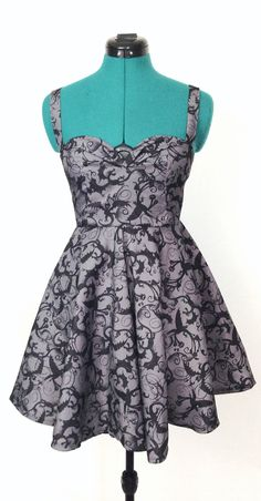 Toothless How to Train Your Dragon Dress by FashionablyGeeky247, $60.00