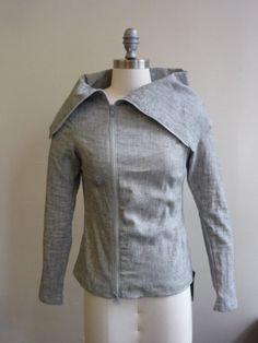 Amazing Asymmetrical Jacket for Spring by elikadesigns on Etsy, $150.00