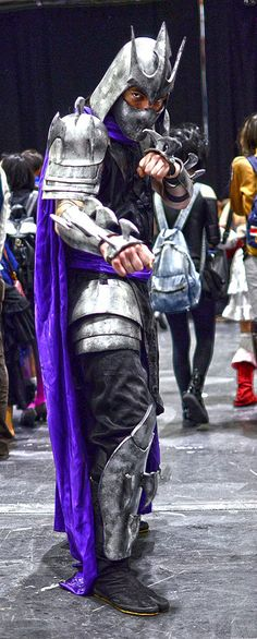 Shredder #cosplay from TMNT | MCM Comic con 2013
