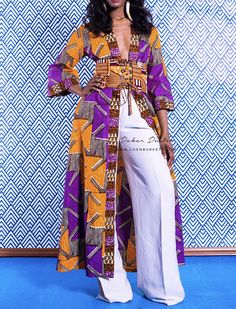 Africa Fashion 746049494492550738 - Duster imprimé africain: Dakar Duster Source by African Inspired Fashion, African Dresses For Women, African Print Fashion, Africa Fashion, African Attire, African Wear, African Fashion Dresses, African Women, Fashion Outfits