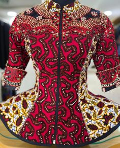 African Maxi Dresses, Latest African Fashion Dresses, African Print Fashion, Kitenge, African Print Dress Designs, African Blouses, Blouse Styles, Blouse Designs, African Wear