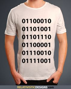 Binary in Binary Nerd T-Shirt