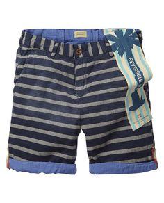 Reversible shorts | Short pants | Boys Clothing at Scotch & Soda