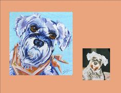 """Twyla"", a custom portrait by Sarah Gayle Carter"