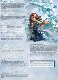 Dungeons And Dragons Classes, Dungeons And Dragons Homebrew, Dnd Sorcerer, Dnd Character Sheet, D D Races, Dnd Classes, Dnd 5e Homebrew, Magic Art, Dnd Characters