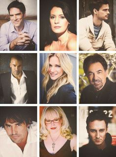 CRIMINAL MINDS CAST: Thomas Gibson, Paget Brewster, Matthew Gray Gubler, Shemar Moore, A.J. Cook, Joe Mantegna, Nicholas Brendon, Kirsten Vangsness, and Will LaMontagne!