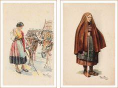 Postais Ilustrados Alberto de Sousa 3 e 4