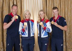 Mixed rowing four: David Smith, Pamela Relph, Naomi Riches and James Roe