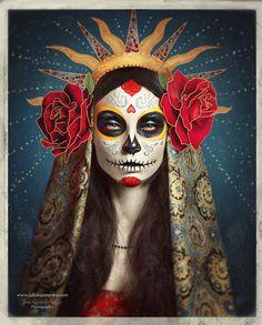 Día de los Muertos ♥ Sugar Skull