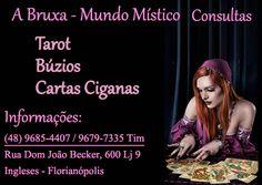 Consulta Oráculos | Búzios | Cartas Ciganas | Tarot | Florianópolis | Santa Catarina