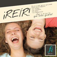 Reír, un excelente ejercicio para adelgazar. #FormasIntimas