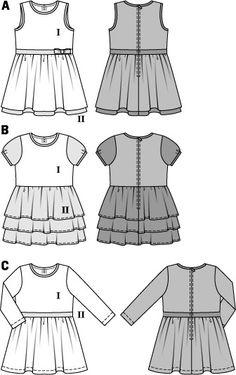 BD9427 Girls' Dress