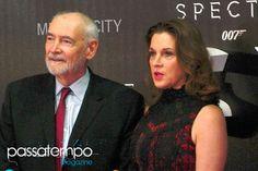 La productora Barbara Broccoli en la Alfombra Roja de Spectre en la Ciudad de México (at the Spectre Red Carpet in Mexico City)