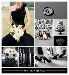 #Black and #white inspiration board