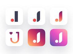 Joom Icons by Alexander Zaytsev #Design Popular #Dribbble #shots