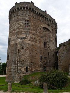 Castillo de Dinan  Bretaña Francia
