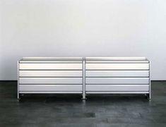 Aluminium shelves di Lehni | Credenze