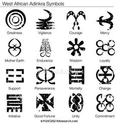 Illustration about An image of a west african adinkra symbols. Illustration of black, clipart, design - 27166747 African Tattoo, African Queen Tattoo, African American Tattoos, Tattoo Tribal, Samoan Tattoo, Swahili Tattoo, Women Tribal Tattoos, Small Tribal Tattoos, Art Tribal