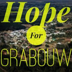 #HopeForGrabouw prayer at 12 today. Wherever you are.