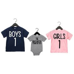 Sibling Shirts for 3, Sibling Shirts for New baby, 3rd pregnancy announcement shirts-#siblingshirts #bigbrother #bigsister #newsibling New Sibling, Sibling Shirts, Sister Shirts, 3rd Pregnancy Announcement, 1 Girl, Heat Press, Cricut Ideas, Bodysuits, New Baby Products