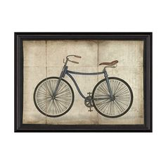 Dot & Bo Travel Back Bicycle Artwork ($225) ❤ liked on Polyvore featuring…