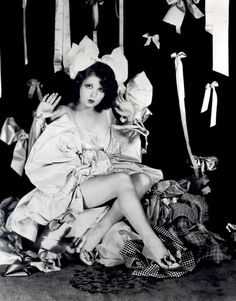 Clara Bow:  1920s silent movie star
