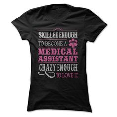 Awesome Medical Assistant T-Shirts, Hoodies. CHECK PRICE ==► https://www.sunfrog.com/Funny/Awesome-Medical-Assistant-Shirt-51869802-Guys.html?id=41382