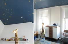 starry ceilings in homes - http://cosmicstarceiling.com/ceiling_guide/?hop=superdad76
