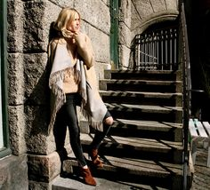 Brown booties in suede.. Pernille Teisbaek. Gianvito Rossi suede ankle boots.