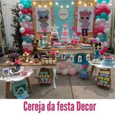 Decoração de Festa Infantil Boneca Lol Surprise