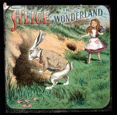 Alice In Wonderland . Late 19th Century edition . The older children's classics and fairy tales have been described as giving new impetus to children's book illustrators . There is a rich and wonderfully diverse source for the creative artist.