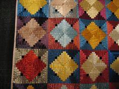 5 posts published by Elizabeth E. Old Quilts, Antique Quilts, Vintage Quilts, Log Cabin Quilt Pattern, Log Cabin Quilts, Log Cabins, Pineapple Quilt, Beach Quilt, Textile Fiber Art
