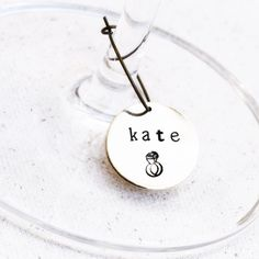 Personalized Wine Glass Charms  bridalshower  winetasting   bachelorettepartyideas Wine Tasting Party e7e0ed641c7b