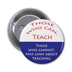 Those Who Can Teach Pinback Button